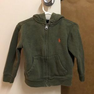 Polo green hoodie 3T